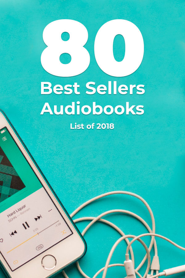 The 80 Best Sellers Audiobooks