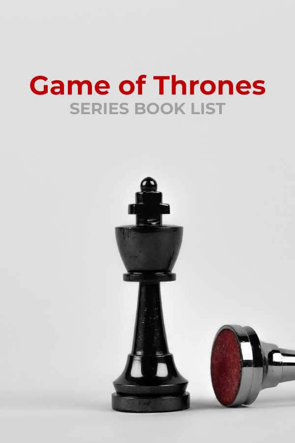 game of thrones book list
